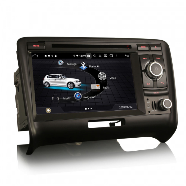 Navigatie auto, Pachet dedicat Audi TT ,7 inch, Android 10, Octa Core 3