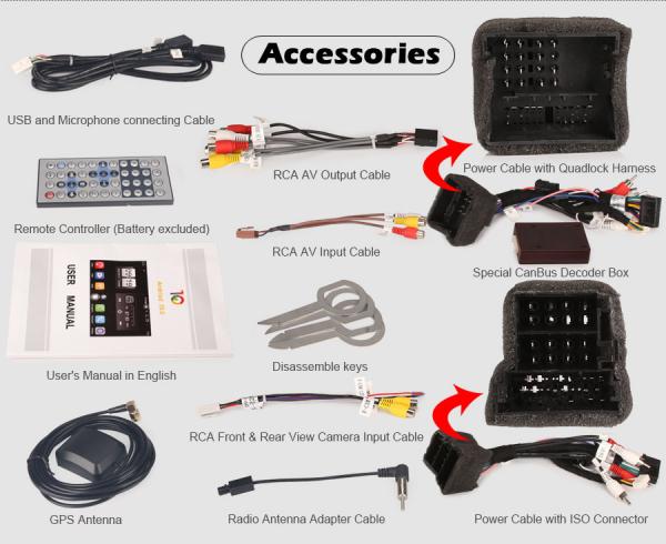 Navigatie auto, Pachet dedicat Audi TT ,7 inch, Android 10, Octa Core 12