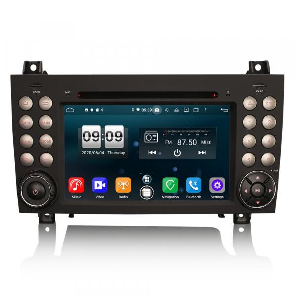 Navigatie auto, Pachet dedicat Mercedes-Benz SLK R171 ,7 inch, Android 10, Octa Core 0