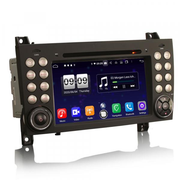 Navigatie auto, Pachet dedicat Mercedes-Benz SLK R171 ,7 inch, Android 10, Octa Core 7