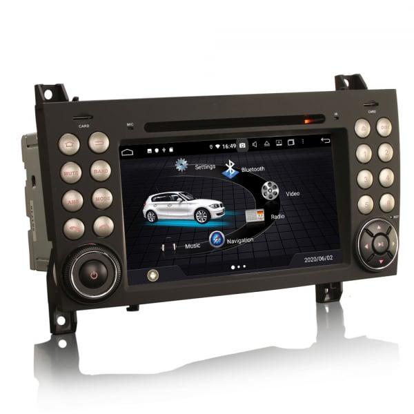 Navigatie auto, Pachet dedicat Mercedes-Benz SLK R171 ,7 inch, Android 10, Octa Core 2