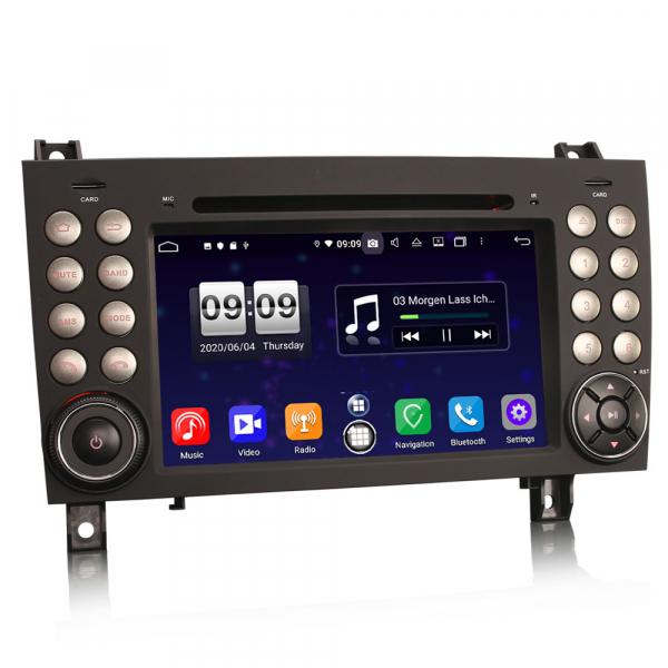 Navigatie auto, Pachet dedicat Mercedes-Benz SLK R171 ,7 inch, Android 10, Octa Core 4