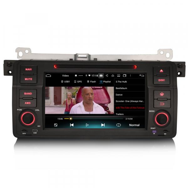 Navigatie auto, Pachet dedicat  BMW E46 318 320 325 M3 Rover75 MG ZT, Android 10.0, 8 Inch, Octa Core 5