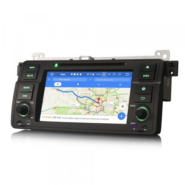 Navigatie auto, Pachet dedicat  BMW E46 318 320 325 M3 Rover75 MG ZT, Android 10.0, 8 Inch, Octa Core 6
