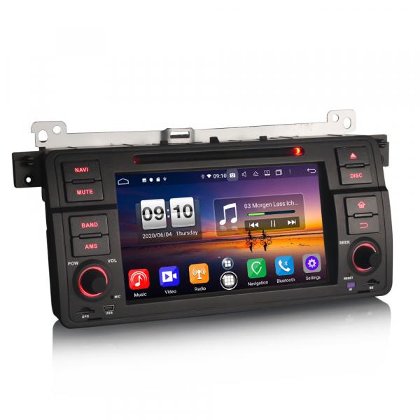 Navigatie auto, Pachet dedicat  BMW E46 318 320 325 M3 Rover75 MG ZT, Android 10.0, 8 Inch, Octa Core 7