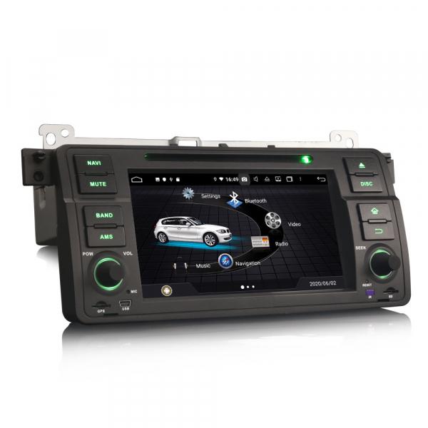 Navigatie auto, Pachet dedicat  BMW E46 318 320 325 M3 Rover75 MG ZT, Android 10.0, 8 Inch, Octa Core 3