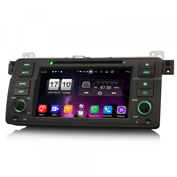 Navigatie auto, Pachet dedicat  BMW E46 318 320 325 M3 Rover75 MG ZT, Android 10.0, 8 Inch, Octa Core 4