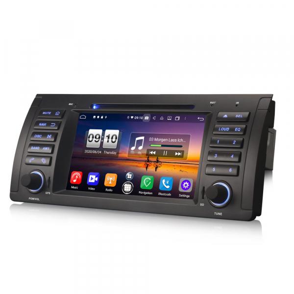Navigatie auto, Pachet dedicat BMW 5 Series E39 E53 X5 M5, Android 10.0, 7 Inch, Octa Core 4