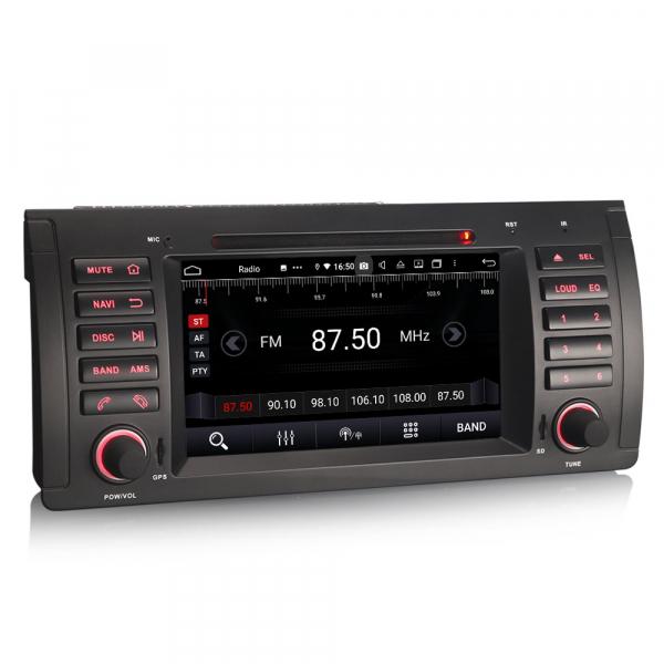 Navigatie auto, Pachet dedicat BMW 5 Series E39 E53 X5 M5, Android 10.0, 7 Inch, Octa Core 5