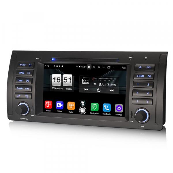 Navigatie auto, Pachet dedicat BMW 5 Series E39 E53 X5 M5, Android 10.0, 7 Inch, Octa Core 1