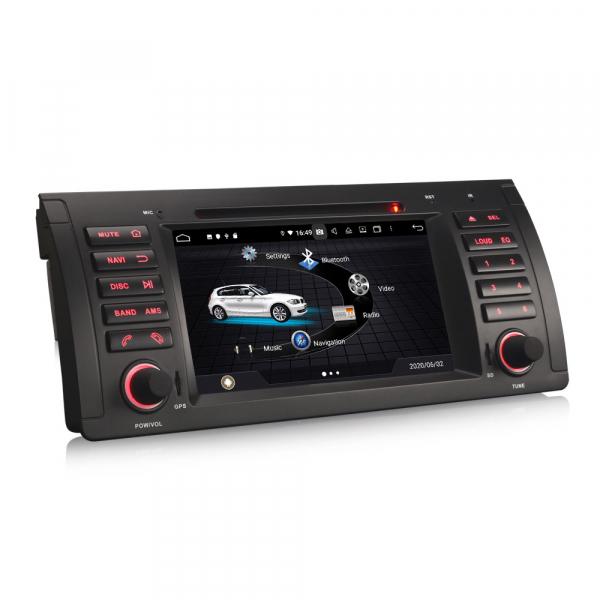 Navigatie auto, Pachet dedicat BMW 5 Series E39 E53 X5 M5, Android 10.0, 7 Inch, Octa Core 2