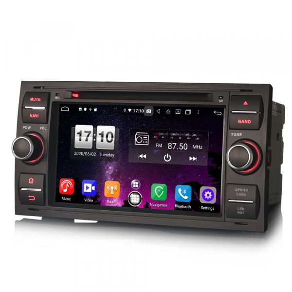 Navigatie auto 2 din, Pachet dedicat Ford C/S-Max Galaxy Kuga Focus Transit, 7 Inch, Android 10.0, Octa Core [1]