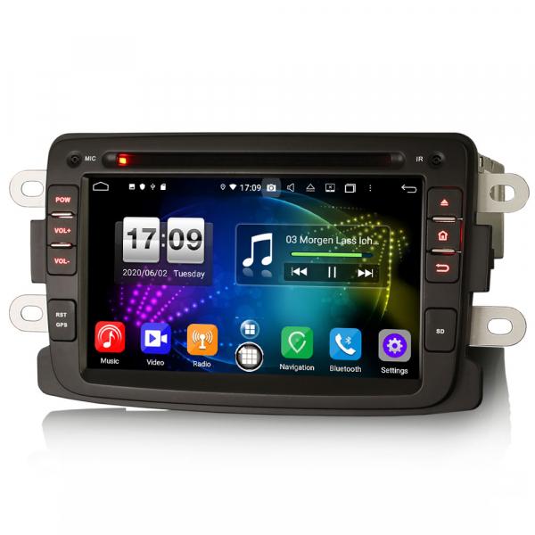 Navigatie auto, Pachet dedicat Duster Logan Dokker Lodgy, Android 10.0, 7 Inch, Octa Core 2