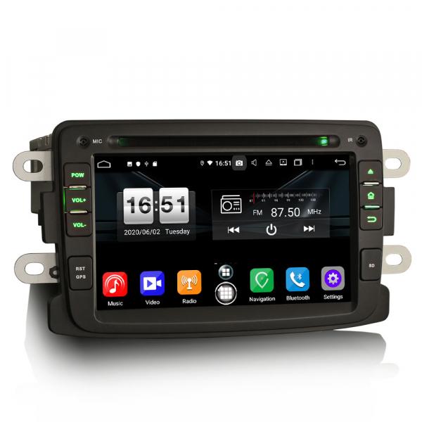 Navigatie auto, Pachet dedicat Duster Logan Dokker Lodgy, Android 10.0, 7 Inch, Octa Core 3
