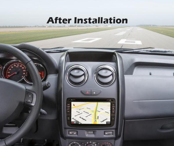 Navigatie auto, Pachet dedicat Duster Logan Dokker Lodgy, Android 10.0, 7 Inch, Octa Core 8