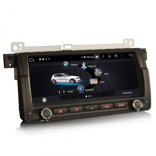Navigatie auto, Pachet dedicat BMW seria 3 , Android 10.0, 8.8 Inch, Octa Core 2