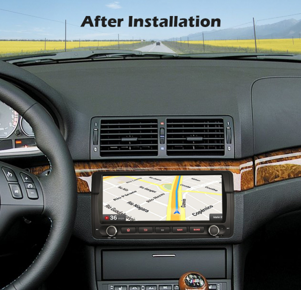 Navigatie auto, Pachet dedicat BMW seria 3 , Android 10.0, 8.8 Inch, Octa Core 6