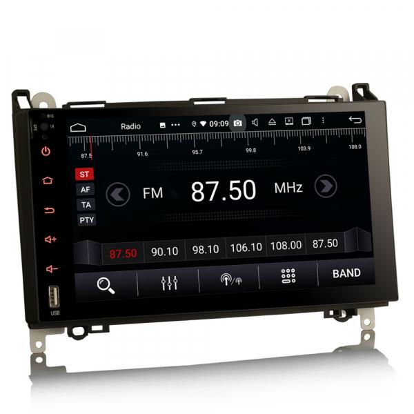 Navigatie auto , Pachet dedicat MERCEDES Benz A Class B200, Android 10; 9 Inch, Octa Core 5