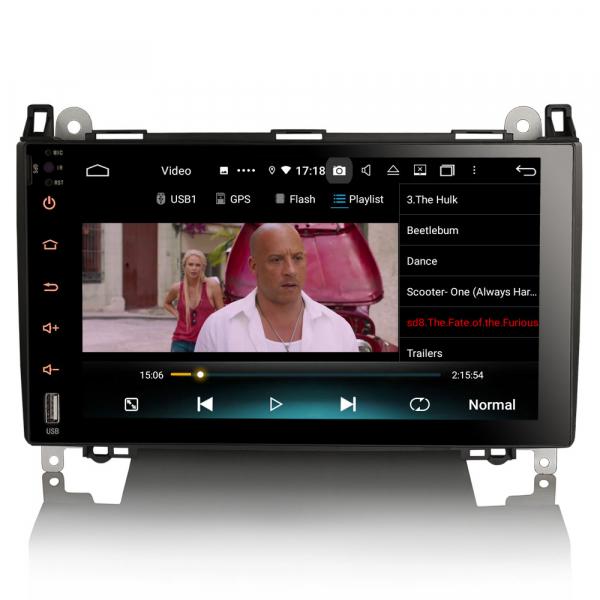 Navigatie auto , Pachet dedicat MERCEDES Benz A Class B200, Android 10; 9 Inch, Octa Core 6