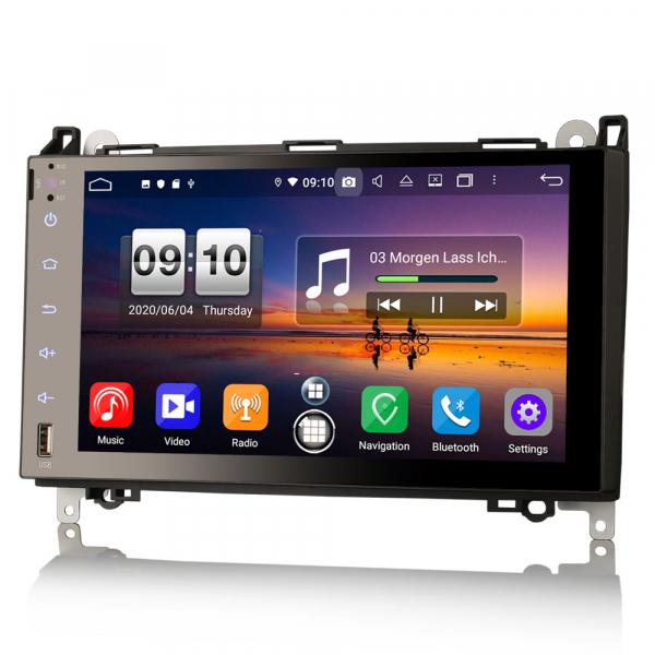 Navigatie auto , Pachet dedicat MERCEDES Benz A Class B200, Android 10; 9 Inch, Octa Core 1