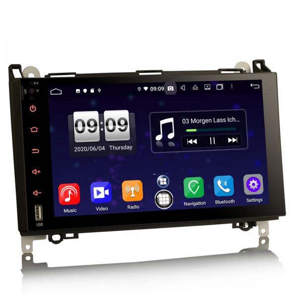 Navigatie auto , Pachet dedicat MERCEDES Benz A Class B200, Android 10; 9 Inch, Octa Core 2