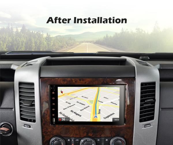 Navigatie auto , Pachet dedicat MERCEDES Benz A Class B200, Android 10; 9 Inch, Octa Core 7