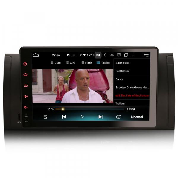 Navigatie auto, Pachet dedicat BMW seria 5, Android 10.0,9 Inch, Octa Core 6