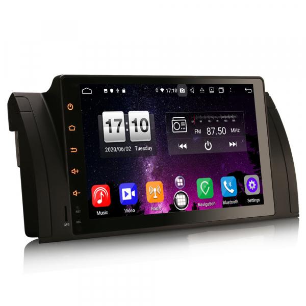 Navigatie auto, Pachet dedicat BMW seria 5, Android 10.0,9 Inch, Octa Core 7