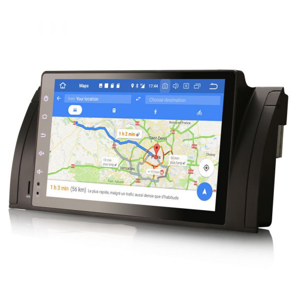 Navigatie auto, Pachet dedicat BMW seria 5, Android 10.0,9 Inch, Octa Core 8