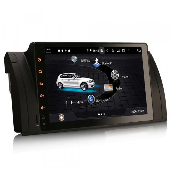 Navigatie auto, Pachet dedicat BMW seria 5, Android 10.0,9 Inch, Octa Core 2