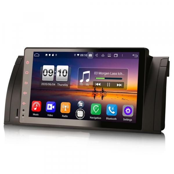 Navigatie auto, Pachet dedicat BMW seria 5, Android 10.0,9 Inch, Octa Core 3
