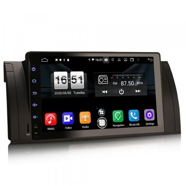 Navigatie auto, Pachet dedicat BMW seria 5, Android 10.0,9 Inch, Octa Core 4