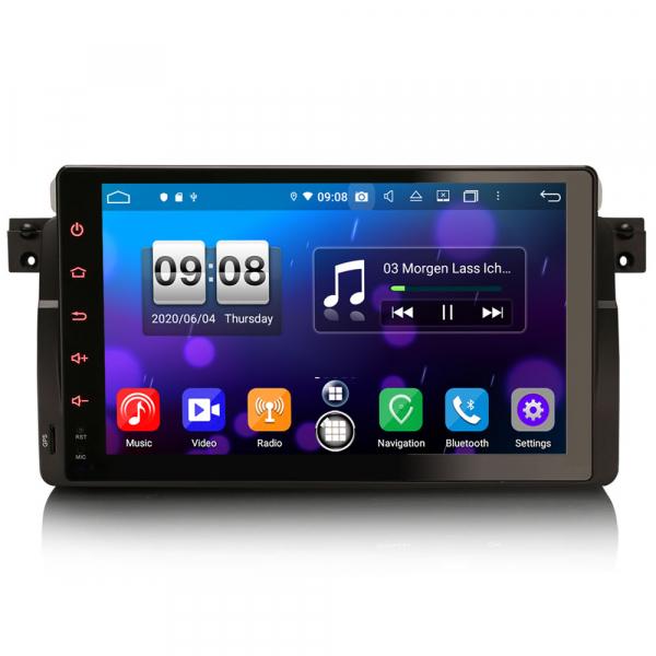 Navigatie auto, Pachet dedicat BMW seria 53/M3, Android 10.0,9 Inch, Octa Core 0