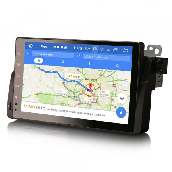 Navigatie auto, Pachet dedicat BMW seria 53/M3, Android 10.0,9 Inch, Octa Core 7