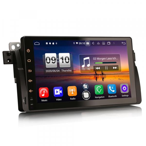 Navigatie auto, Pachet dedicat BMW seria 53/M3, Android 10.0,9 Inch, Octa Core 8