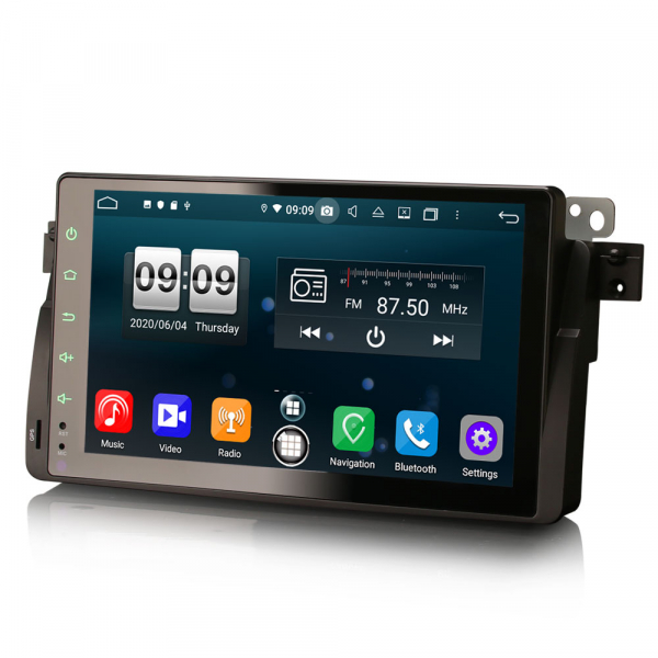 Navigatie auto, Pachet dedicat BMW seria 53/M3, Android 10.0,9 Inch, Octa Core 1
