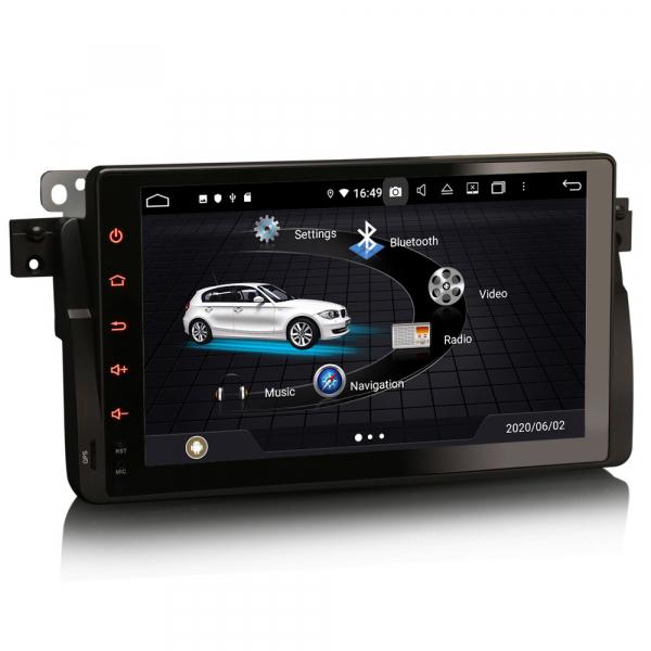 Navigatie auto, Pachet dedicat BMW seria 53/M3, Android 10.0,9 Inch, Octa Core 2