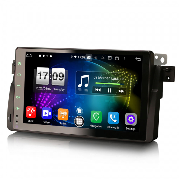 Navigatie auto, Pachet dedicat BMW seria 53/M3, Android 10.0,9 Inch, Octa Core 3