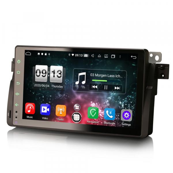 Navigatie auto, Pachet dedicat BMW seria 53/M3, Android 10.0,9 Inch, Octa Core 5