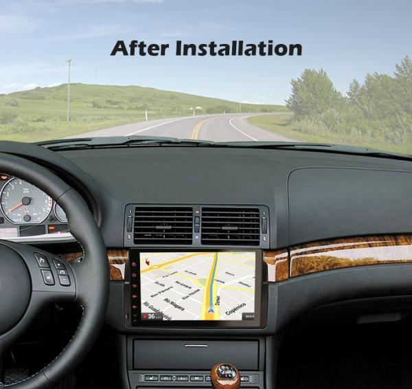 Navigatie auto, Pachet dedicat BMW seria 53/M3, Android 10.0,9 Inch, Octa Core 9