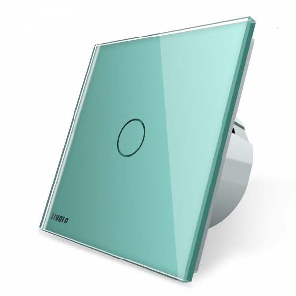 Intrerupator simplu cu touch Livolo din sticla [6]