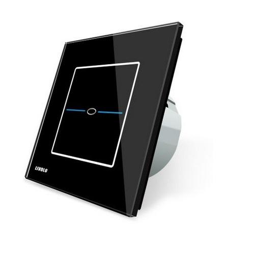 Intrerupator simplu cu touch Livolo din sticla - Seria R 1