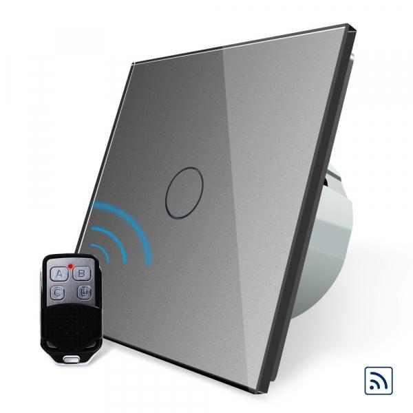 Intrerupator simplu cu touch Livolo, Wireless (Telecomanda inclusa) [0]