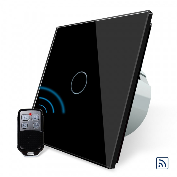 Intrerupator simplu cu touch Livolo, Wireless (Telecomanda inclusa) [4]