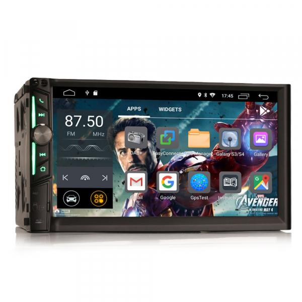 Multimedia player auto, 2 din universal,  Android 10.0 ,Quad core CPU, 2GB Ram; Camera marsarier si ObdII inclus 10