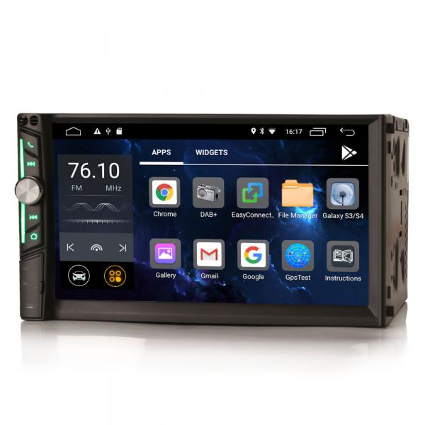 Multimedia player auto, 2 din universal,  Android 10.0 ,Quad core CPU, 2GB Ram; Camera marsarier si ObdII inclus 5