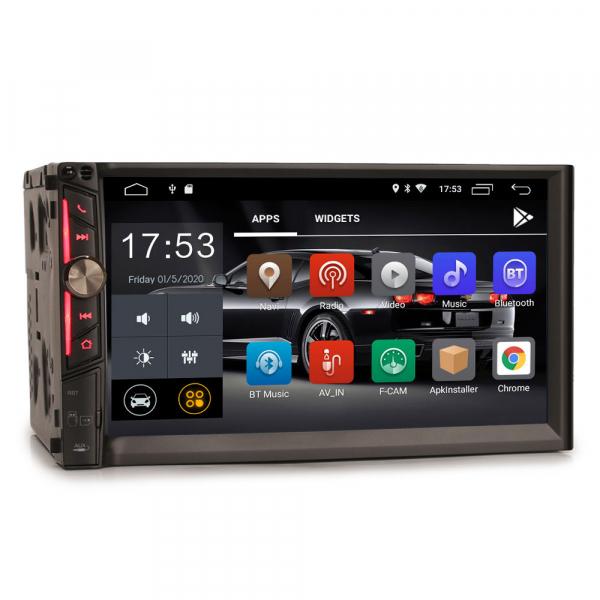 Multimedia player auto, 2 din universal,  Android 10.0 ,Quad core CPU, 2GB Ram; Camera marsarier si ObdII inclus 6