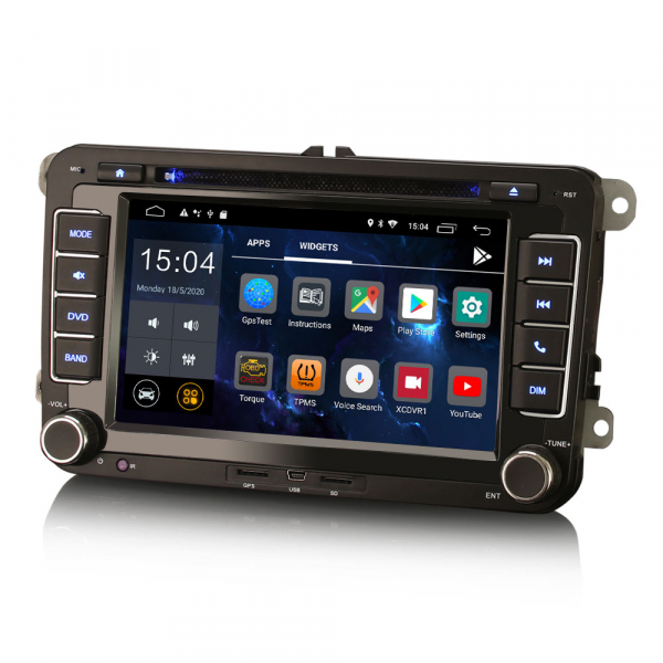 Navigatie auto dedicata VW SKODA SEAT, Android 10.0, Quad Core [3]