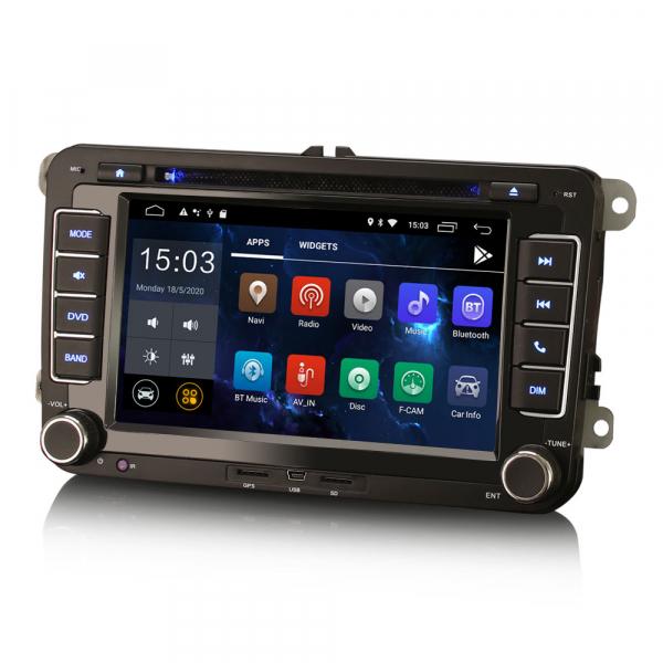 Navigatie auto dedicata VW SKODA SEAT, Android 10.0, Quad Core [1]