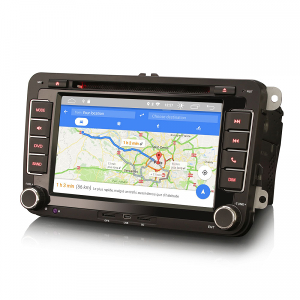 Navigatie auto dedicata VW SKODA SEAT, Android 10.0, Quad Core [7]